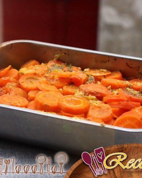 Zanahorias de ralladura de naranja de Jamie Oliver con ajo y perejil