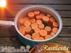 Zanahorias pegajosas a la sartén al estilo J. Oliver
